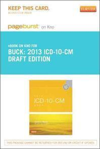 2013 ICD-10-CM Draft Edition - Pageburst E-Book on Kno (Retail Access Card)