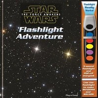 Star Wars the Force Awakens Flashlight Adventure