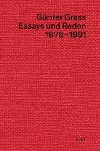 Essays und Reden III (1976-1991)