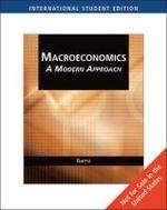 Macroeconomics : Modern Approach