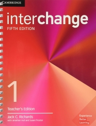 Interchange Level 1 Teacher's Edition with Complete Assessment Program