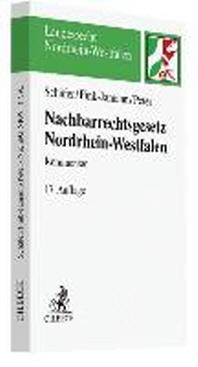 Nachbarrechtsgesetz fuer Nordrhein-Westfalen