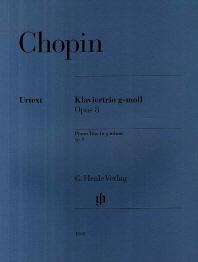 쇼팽/피아노트리오 G단조 Op. 8(HN 1068)