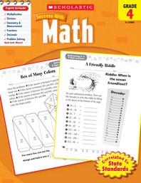 Scholastic Success with Math Grade. 4(Work Book)