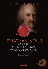 리바이어던. 3권 (토마스 홉스) : Leviathan. Vol. 3 (영문판)