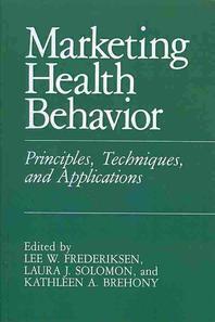 Marketing Health Behavior