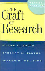 Craft of Research 2/e