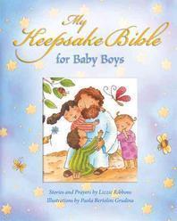 My Baby Keepsake Bible for Baby Boys