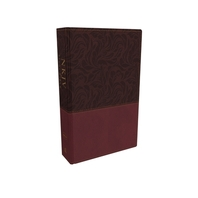 NKJV Study Bible, Imitation Leather, Red, Full-Color, Red Letter Edition, Comfort Print