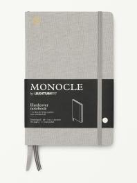 모노클 하드커버 도트 노트 B6 라이트 그레이(Monocle Booklinen Hardcover Dot B6 Light Grey)