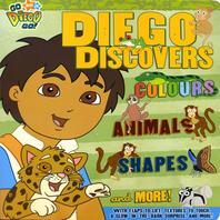 Go Diego Go! : Diego Discovers - 보드북