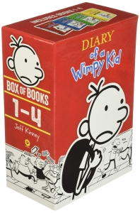 Diary of a Wimpy Kid Box of Books 1-4 Revised