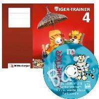 Tiger-Trainer 4 - Arbeitsheft inkl. CD-ROM Mathetiger Basic 4