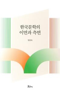 한국문학의 이면과 측면