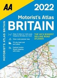 Motorists Atlas Britain Sp 2022