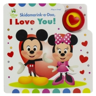 Disney Baby Mickey and Minnie Mouse - Skidamarink-A-Doo, I Love You! Sing-A-Long Sound Book - Pi Kid