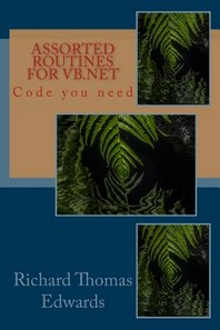 Assorted Routines For VB.Net