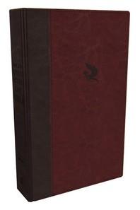 NKJV, Spirit-Filled Life Bible, Third Edition, Imitation Leather, Burgundy, Indexed, Red Letter Edition, Comfort Print