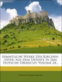S Mmtliche Werke Der Kirchen-V Ter