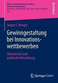 Gewinngestaltung Bei Innovationswettbewerben