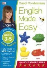 English Made Easy Preschool Early Reading Ages 3-5ages 3-5 Preschool