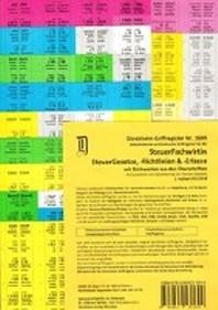 SteuerFachwirt/in Griffregister fuer das SteuerRecht (Gesetze-Richtlinien-Erlasse) mit Stichworten Nr. 1699 (2018) fuer die Steuergesetze/Richtlinien und Erlasse: 191.EL
