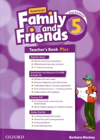 American Family and Friends 2E 5 TB Plus