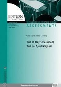 Test of Playfulness (ToP) Test zur Spielfaehigkeit