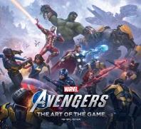 마블 어벤져스 게임 아트북
