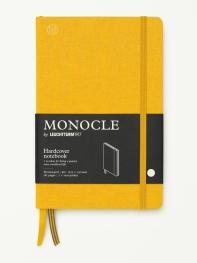 모노클 하드커버 도트 노트 B6 옐로우(Monocle Booklinen Hardcover Dot B6 Yellow)