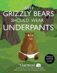Why Grizzly Bears Should Wear Underpants [With Poster]