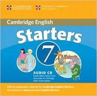 Cambridge Young Learners English Tests 7 Starters Audio CD