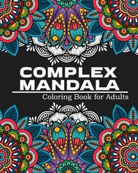 Complex Mandala Coloring Book for Adults