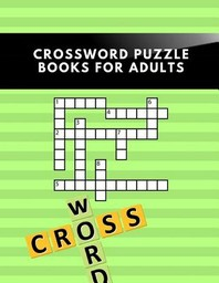 Crossword Puzzle Books For Adults
