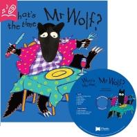 노부영 송 애니메이션 세이펜 What's the Time, Mr Wolf? (원서 & CD)