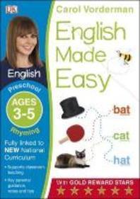 English Made Easy Rhyming Preschool Ages 3-5ages 3-5 Preschool