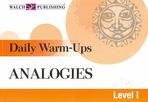 ANALOGIES. LEVEL 1