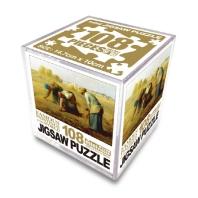 명화 직소퍼즐 미니 Cube 108pcs: 이삭줍는 여인들