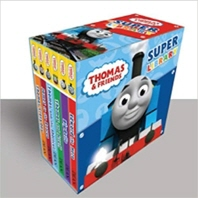 Thomas and Friends Board Book Collection 6 Books Set