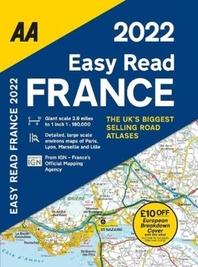 Easy Read France Atlas Fb 2022