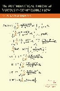 The Mathematical Theory of Viscous Incompressible Flow