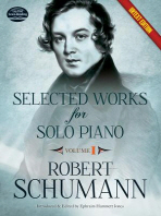 Selected Works for Solo Piano Urtext Edition