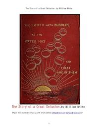 천연두 백신의 발명인, 제너의 종두법 창시의 위대한 망상.The Story of a Great Delusion, by William Whi