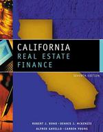California Real Estate Finance