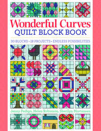 Wonderful Curves Sampler Quilt Block Book