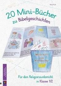 20 Mini-Buecher zu Bibelgeschichten