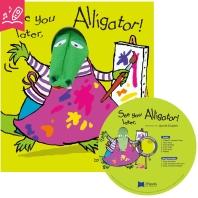 노부영 송 애니메이션 세이펜 See You Later, Alligator! (원서 & CD)