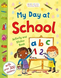 My Day at School Activity and Sticker Book