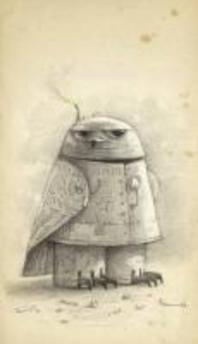 Shaun Tan Notebook - Snow Owl