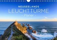 Neuseelands Leuchttuerme - Planer (Wandkalender 2021 DIN A4 quer)